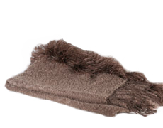 Mohair Blanket TSI Boa Pinecone