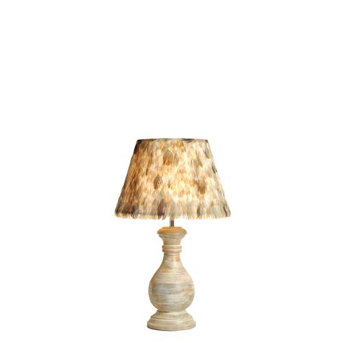 Lampbase Aspen Natural Wood