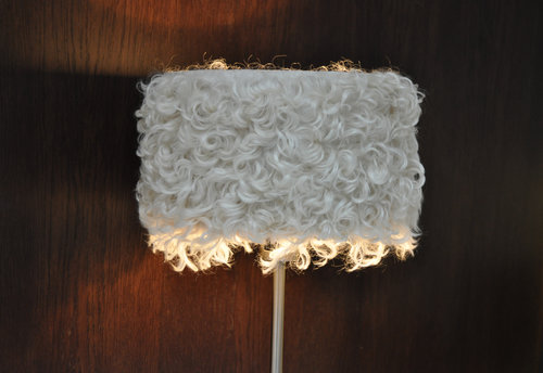 Lampshade Angora Drum
