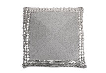 Cushion Glamour Silver Press