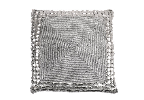Cushion Glamour Silver Press