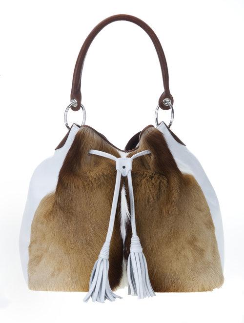 Handbag Jabulani Natural Press