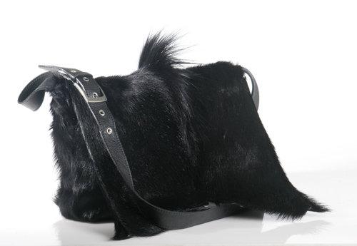 Handbag Postman Springbok Black Press