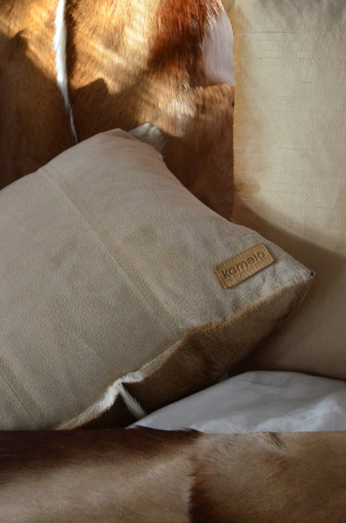Cushion Springbok Natural