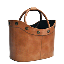 Basket Leather Golden Hawk Natural