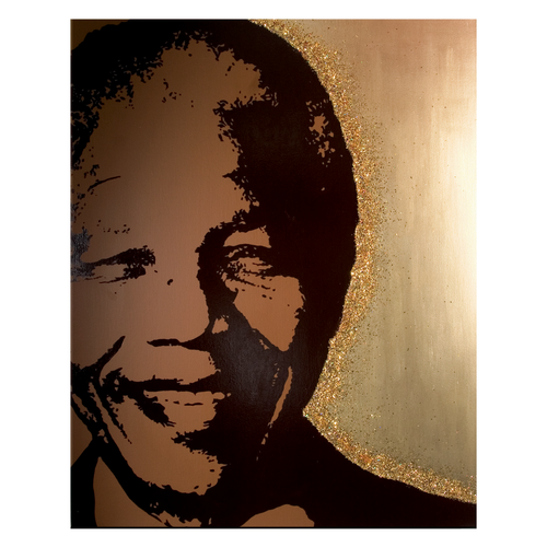 Furniture Mandela Art gold