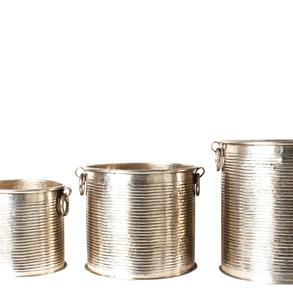 Crystal Silver Bucket S/M/L