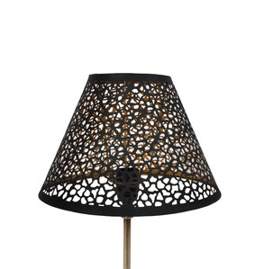 Lampshade Golden Black M2