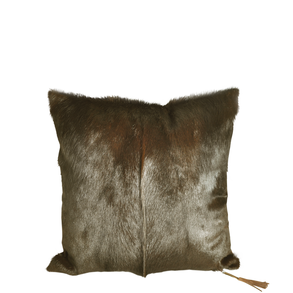 Cushion Springbok Brown L